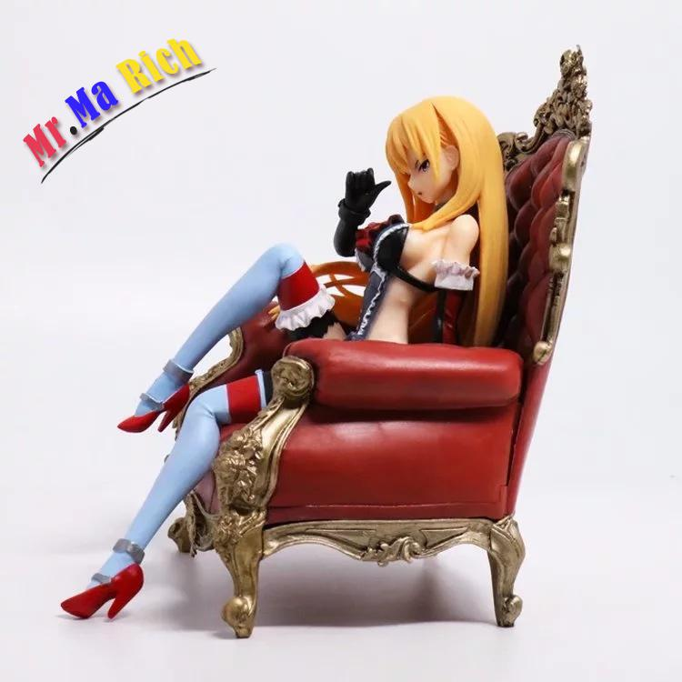 Toys & Hobbies New Arrival Anime Kantai Collection Bismarck Sitting Sofa Ver Pvc Model 16cm Sexy Girl Toy Kids Decoration Action Figure Doll 100% Guarantee