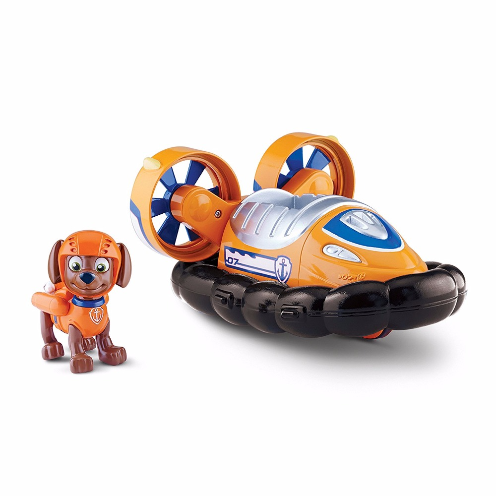 Genuine Original Paw Patrol Zuma s Hovercraft Puppy la Patrulla Canina Toy Vehicle Car Dog patrol Canine Toy with box new electronic wristband patrol dogs kids paw toys patrulla canina toys puppy patrol dogs projection plastic wrist watch toys