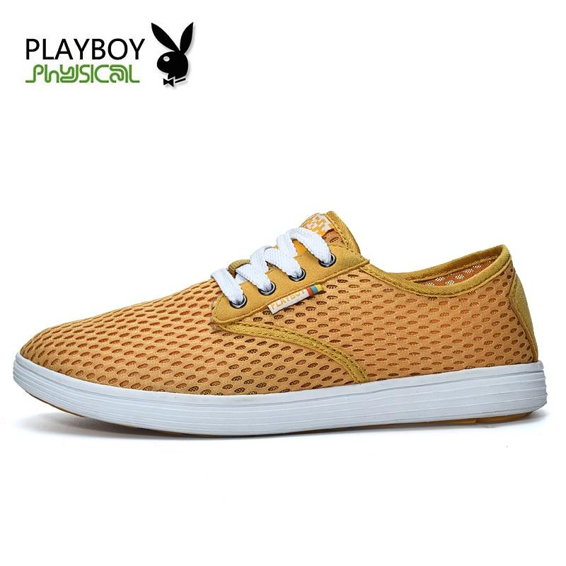 2016 Maille Chaussure Schoenen Playboy Homme Gray Mens Mocassins ardoisé Zapatos Chaussures Blue light Sandy Respirant jaune Casual Ventes Hommes D'été deep Blue navy 4xPEqw8gP