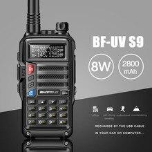 2019 BAOFENG UV-S9 8 Вт Мощный VHF/UHF136-174Mhz и 400-520 МГц Dual Band 10 км Long Range Thickenbattery портативная рация CB радио