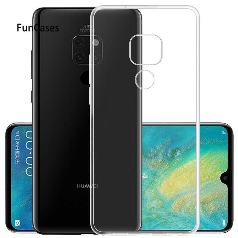 Silicone mềm TPU Dành Cho Huawei P Smart Plus 2019 P30 P20 P10 Giao Phối 10 20 Lite Pro X Danh Dự 10 quan điểm 20 Chơi 8X Nova 3 3i V20