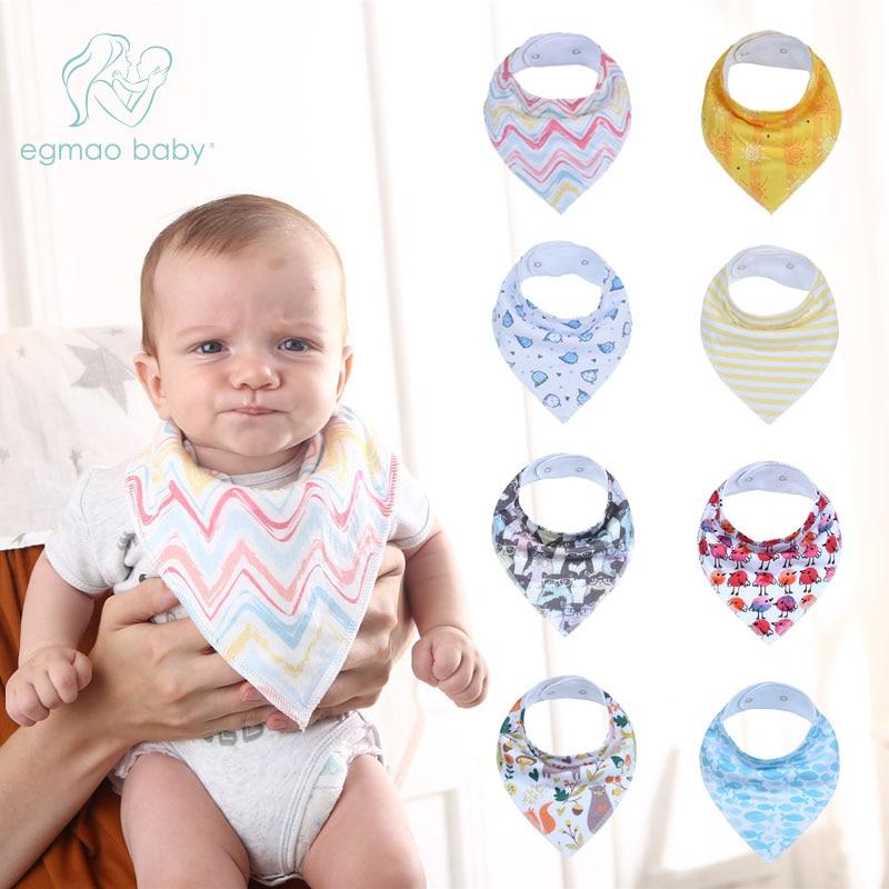 Baby Bibs Unisex 100/% Cotton Bandana Feeding Kids Toddler Boy Girl Extra Large