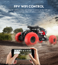 WIFI aerial RC car 4wd off-road 2.4G WIFI camera control real-time image transmission remote control car vs Cloud Rover IV tank