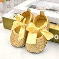 Europa Bowknot Princesa Sapatos PU Sapatos de Bebê Recém-nascido Do Bebê Da Menina do Menino Botas Fundo Macio Criança Primeira Walkers D35