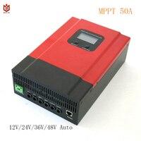 Maylar Esmart3 50A MPPT Контроллер заряда 12 В 24 В 36 В 48 В Авто Панель Зарядное устройство регулятор для макс. 150VDC Вход с USB 5V3A