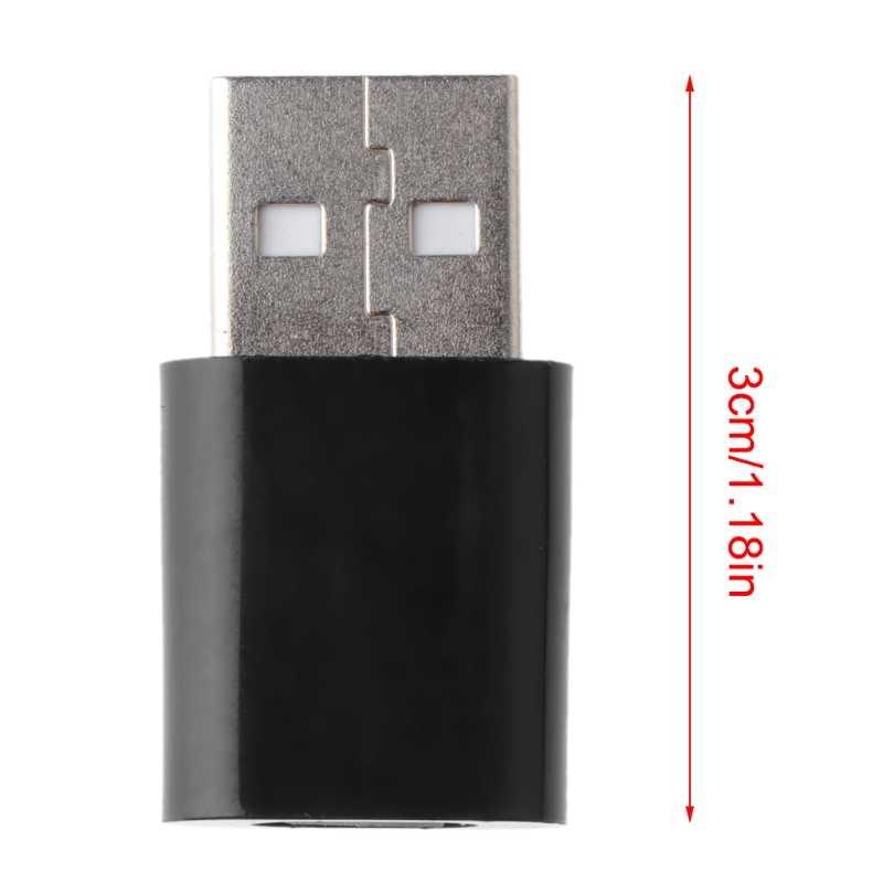 USB 2.0 Männlich zu Micro USB Buchse Adapter Für Micro USB Fan Kartenleser