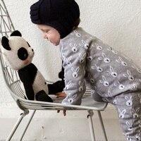 Automne Hiver Bébé Filles Garçons Vêtements Barboteuses Bande Dessinée Lapin À Tricoter Un Morceaux Barboteuses pour Enfants Enfants En Bas Âge