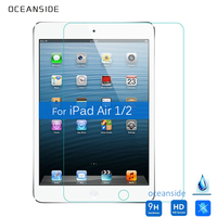 For Ipad Air 1 2 Tempered Glass Screen Protector 2 5 9h Safety Protective Film On