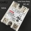 1 PC SSR-50 DA SSR-50DA Manufacturer 50A SSR Relay Input 3-32VDC Output 24-380VAC Good Quality Solid State Relay Wholesale Hot