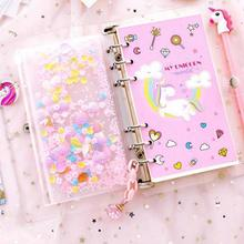 Stationery Handbook Notebook Loose-leaf Creative Girl Heart Calendar Removable Students Wear Cute Diary Book