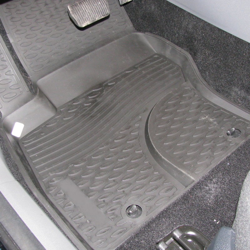 Mats in the salon For FORD Focus 3, 04/2011-2015 4 PCs (polyurethane) mats in the salon for ford escape 2007 3 pcs polyurethane