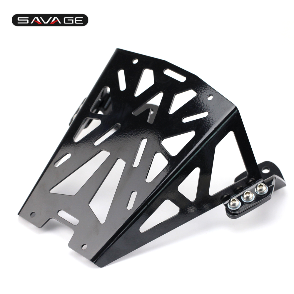 For KTM DUKE 125 200 250 390 2012-2017 Motorcycle Rear Carrier Luggage Rack for 2012 2015 ktm 125 200 390 duke motorcycle rear passenger seat cover cowl 11 12 13 14 15
