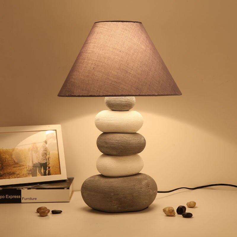 Die Einfachheit Des Modernen Keramik Tischlampen Für Wohnzimmer Führte Bett Nachttischlampe Licht Tischleuchte Tafellamp Lampen Schlafzimmer Blut NäHren Und Geist Einstellen