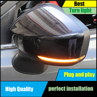 For Mazda 3 6 M3 M6 Axela Atenza 2017 2018 Door Side Dynamic Yellow Turn Signal Light Lamp Car styling Auto Parts