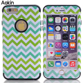Aokin raised grain case para apple iphone 6 6 s plus 5 5S 5c setpu case macio dura 3-1 estilo capa de silicone para samsung s6 edge s5