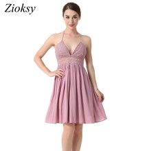 Petite robe d'été à dentelle sexy ...