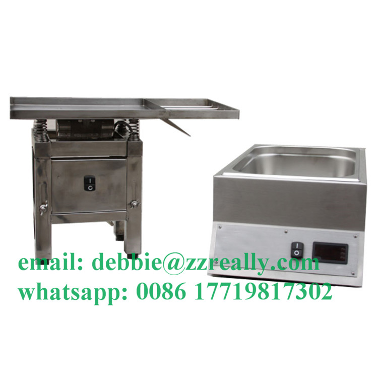 High quality Topping hot sauce bottle chocolate spread warmer machine
