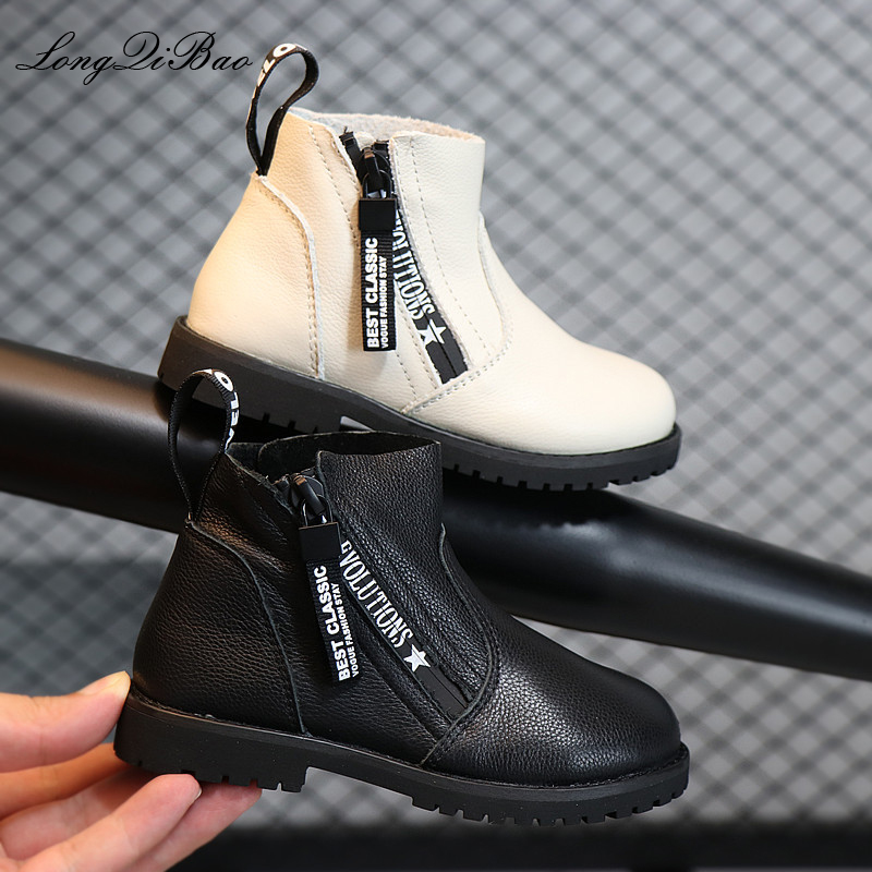 2018 autumn and winter children's shoes new girls leather cotton shoes Korean version of the child baby in the boots fashion boo лампа автомобильная ксеноновая clearlight xenon premium 150