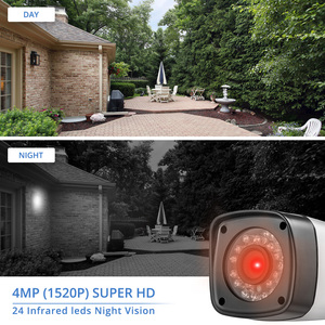Image 2 - FUERS 2688*1520P 4MP AHD Camera CCTV IR Cut filter 24 IR LED Camera Indoor Outdoor IP65 Waterproof Night Vision For Security DVR