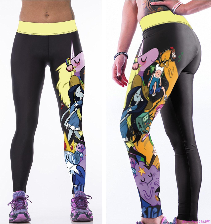 Cut up yoga pants-3703