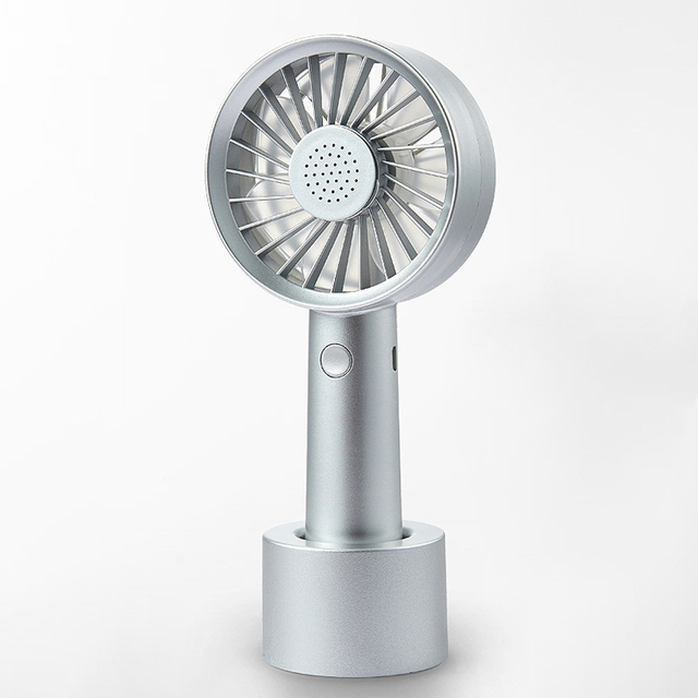 New USB Cooling Portable Mini Fan Portable Rechargeable Super Mute Handheld Electric Table Air Cooler Stand Fan Ventilador