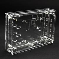 1PC Type Transparent Acrylic Sheet Housing Case For DSO138 Oscilloscope New Wholesale