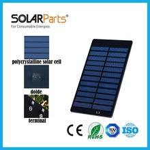 Solarparts 2pcs 82*120mm 6V/150mA mini PET laminated solar panel solar modules for educational toys charger DIY kits scientific