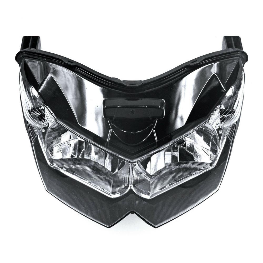 Motorcycle Accessories Front Headlight Assembly Headlamp Lighting Fit For Kawasaki Z1000 ZRT00B Z750 ZR750L 2007 2008 2009