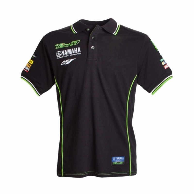 836d13dd43f 2018 nuevo Moto GP equipo de carreras camisa de Polo de los hombres  camisetas de Camiseta