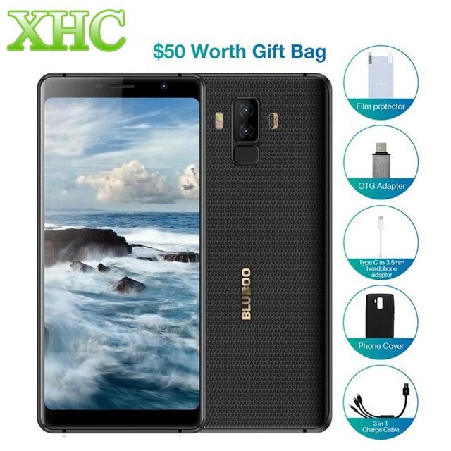 Original BLUBOO S3 6.0'' FHD+ 2160x1080pixel Smartphone 8500mAh 4GB+64GB Android 8.1Octa Core 21MP+13MP Dual SIM 4G Mobile Phone