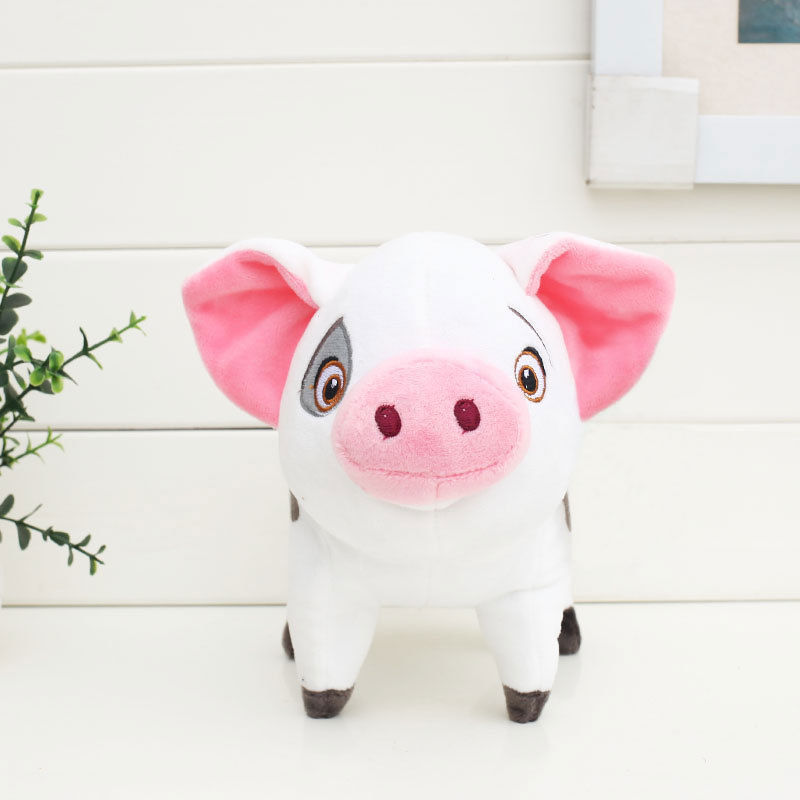 Moana Princess Plush Toys 20cm Pua Pepa Pink Pig Stuffed Dolls For Kids Gift