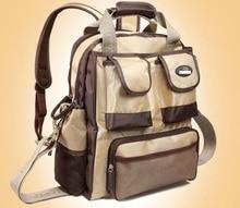 2016 Multifunctional Nappy Mummy Travel Bag Maternity Diaper Nappy Pad Backpack Large Capacity Stroller Mother Bag bolsa de bebe