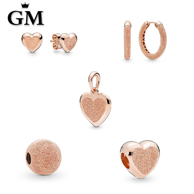 GM 100% Pure Silver Original Copy High Quality 1:1 2019 Latest Spring Festival New Style Plated Rose Gold Logo Free ShippingGM 100% Pure Silver Original Copy High Quality 1:1 2019 Latest Spring Festival New Style Plated Rose Gold Logo Free Shipping