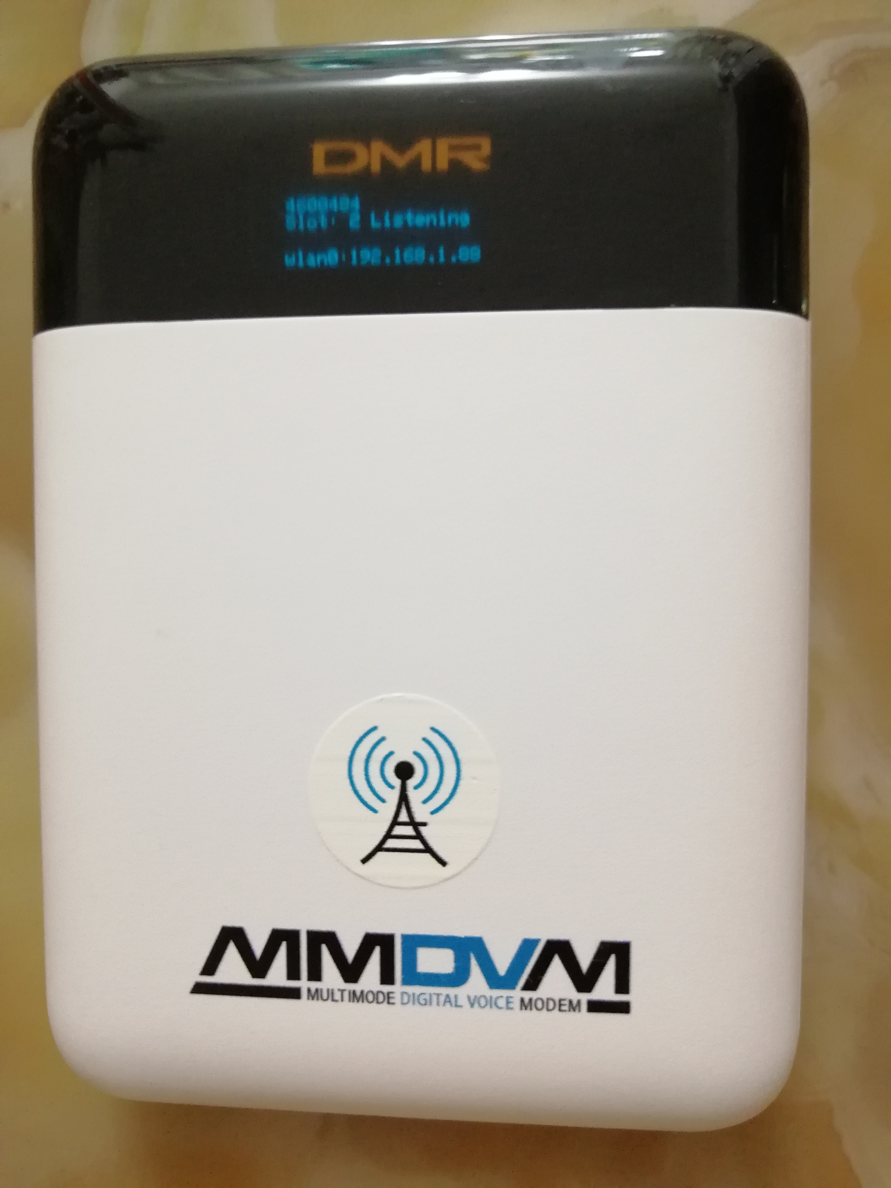 OLED Simplex Portable HotSPOT MMDVM(built-in Battery)DMR/YSF/P25/NXDN/DSTAR