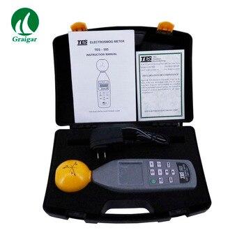 TES593 EMF метр трехосный регистратор данных TES-593 для изотропных измерений электромагнитных полей трехосного измерения