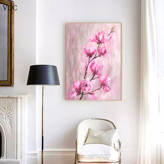 VCC Flowers Canvas Art,Modern Paintings On The Wall Art Canvas ...