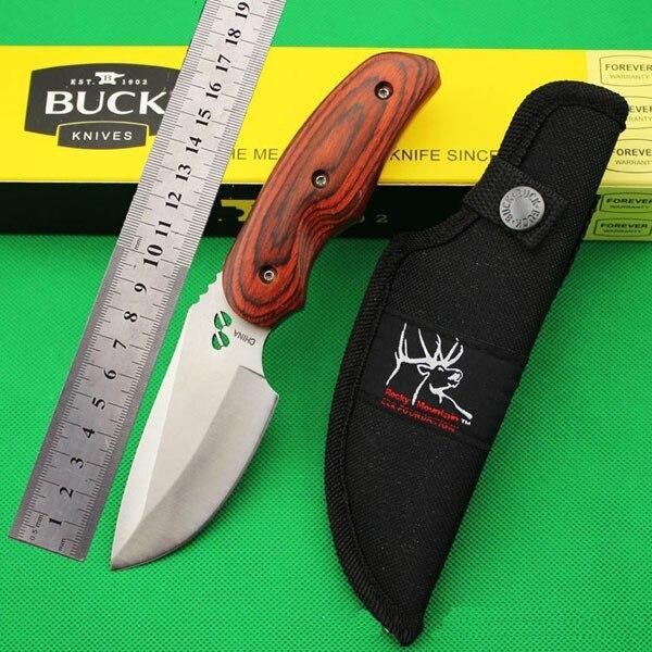 Top quality Military font b knife b font OEM Buck font b hunting b font font