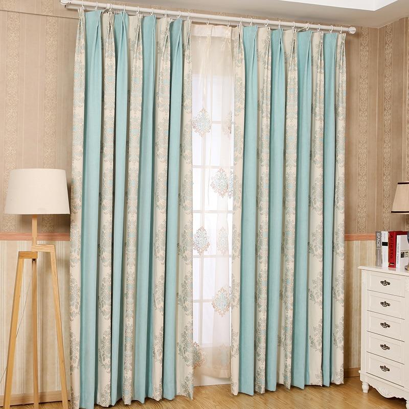 Modern Minimalist Chenille Jacquard Curtains / Screens