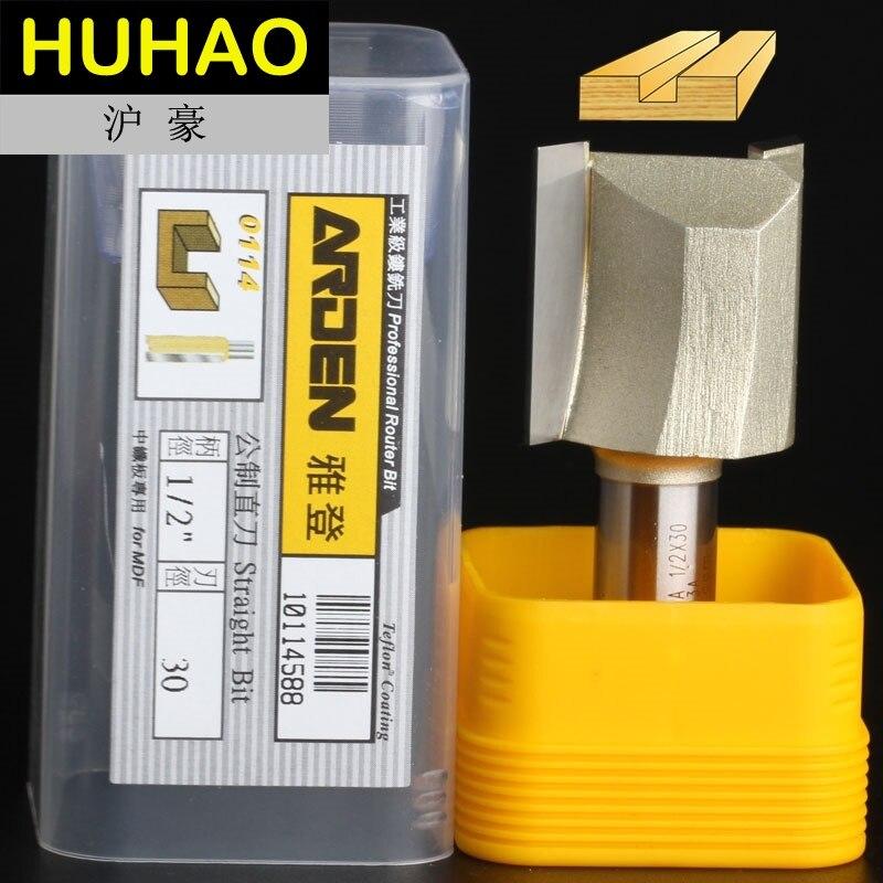 Fresas para router Holzbearbeitung Werkzeuge Metric Flöte Gerade Bit Arden Router Bits - 1/2*30mm - 1/2