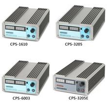 CPS 3205 3205II Mini ayarlanabilir dijital anahtarlama DC güç kaynağı OVP/OCP/OTP 0.001A 0.01V 32V 30V 5A 60V 3A 16V 10A