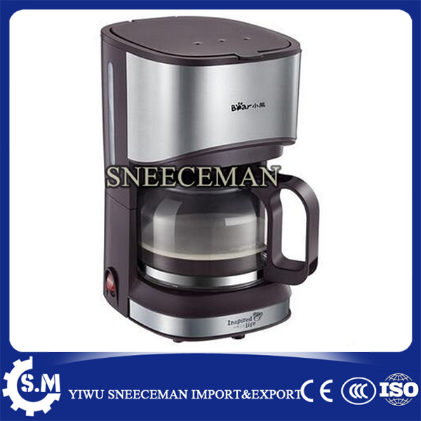 American automatic Coffee machine drip coffee pot home intelligent fully automatic american style coffee machine drip type small is grinding ice cream teapot one machine