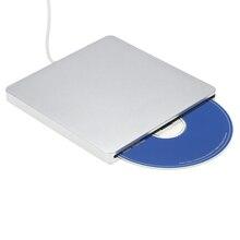 USB 3.0 Tragbare Ultra Slim Externe Slot-in DVD-RW CD-RW CD DVD ROM Player Stick Schriftsteller Rewriter Brenner für Mac Laptop PC