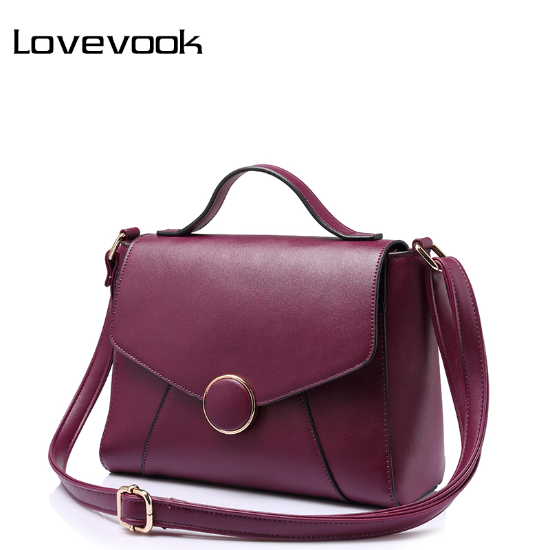 LOVEVOOK bags handbags women famous brands high quality shoulder crossbody bag female messenger bags ladies fashion zipper small