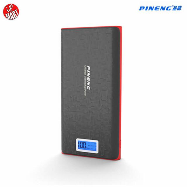 Pn920 original pineng 20000 mah banco de potência portátil bateria li-polímero powerbank móvel com indicador led para iphone6s