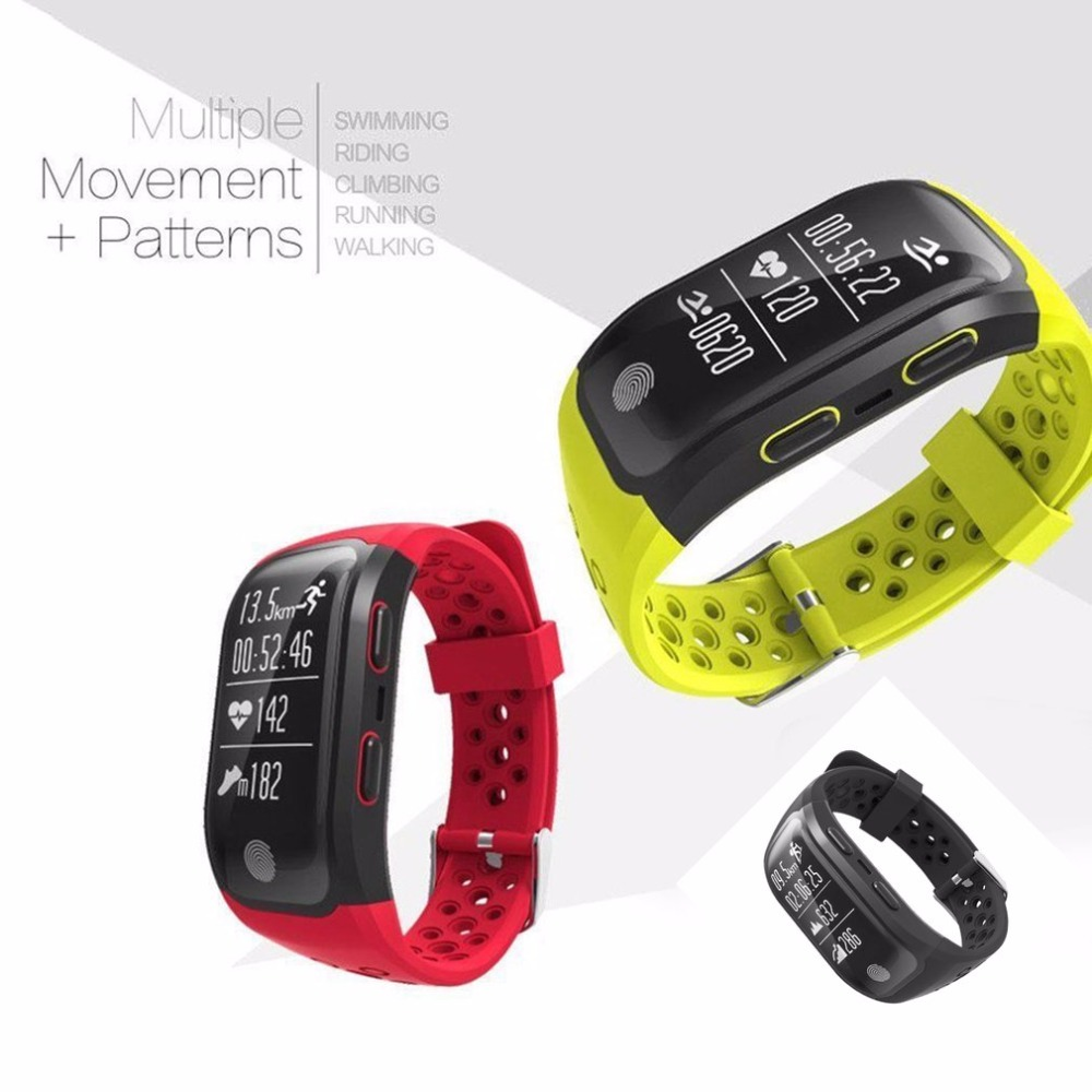 GPS Smart Watch IP68 Waterproof Bracelet Watch Heart Rate Sleep Monitor Fitness Pedometer Sport Tracker Wristband smart bracelet waterproof dw06 android watch gps sport band fitness tracker heart rate monitor pedometer wristband for men women
