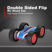 Double Sided Flip RC Stunt Car Jump Bug High Speed Off-Road Vehicles Racing SUV Kids Toy