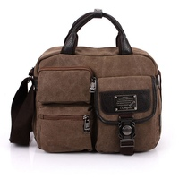 Popular Sale Mens Bag Casual Travel Handbag Shoulder Messenger Bag Men Canvas Bag Briefcase Classical Design