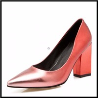 Plus-Size-33-43-Luxury-Brand-Women-Shoes-Sexy-Pointed-Toe-Chunky-Heels-Vintage-Shoes-Less