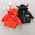 Baby autumn winter pack a male on the female baby jacket velvet thickening double their2016 new dust coat baby 0-1-2-3 years old