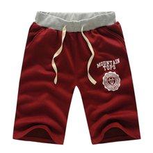 Men's Slim Short Trousers M-XXXL Jogger Men Gray Black Shorts Sweatpants Fitness Workout Shorts